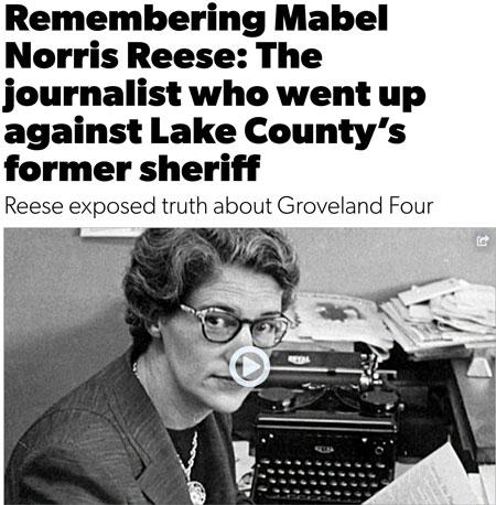 Remembering Mabel Norris Reese